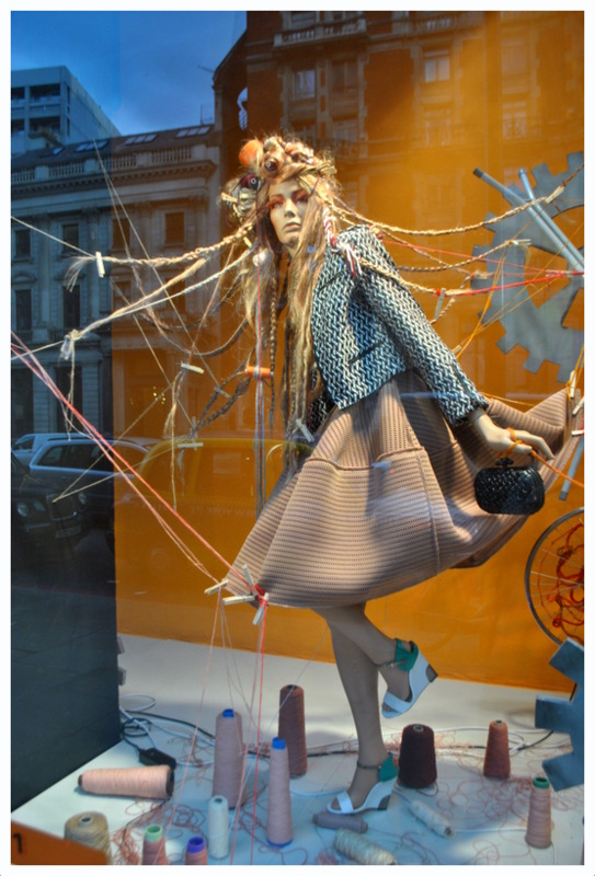 Harvey Nichols windows spring 2013